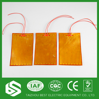 plastic film curing 110v flexible pi heater