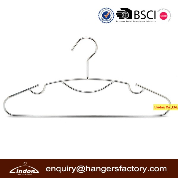 Assessed Supplier LINDON wholesale metal wire clothes hanger