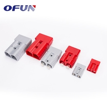 OFUN 50A/175A/350A Male Female Electrical Power Plug 2 Pin Low Voltage Connector