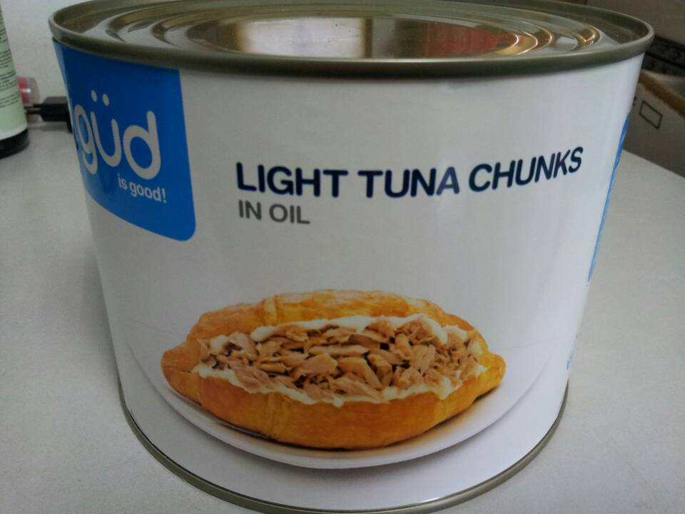 Tuna chunk in oil