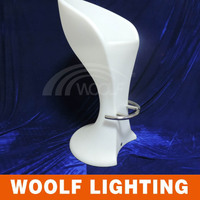 led modern plastic used commercial bar stools
