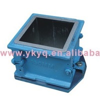 150mm Cast Iron Concrete Cube Mould for Compression Testing Machine