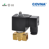 Miniature 1/8'' Inch 12v 24v dc Flow Control Water Normally Closed Solenoid Valve