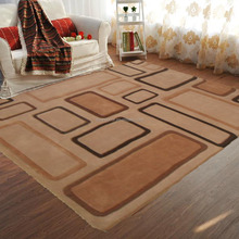 light color 100% polyester hand tufted rugs carpet
