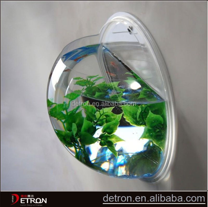 Customized fish tank acrylic retail display stands