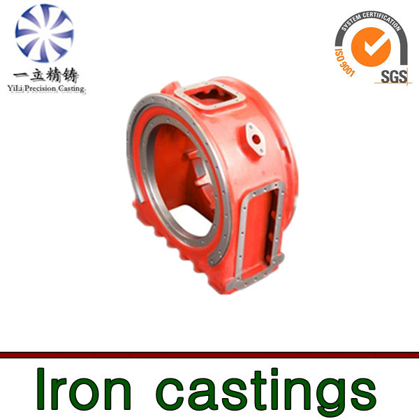Nodular cast iron casting used for truck spare parts