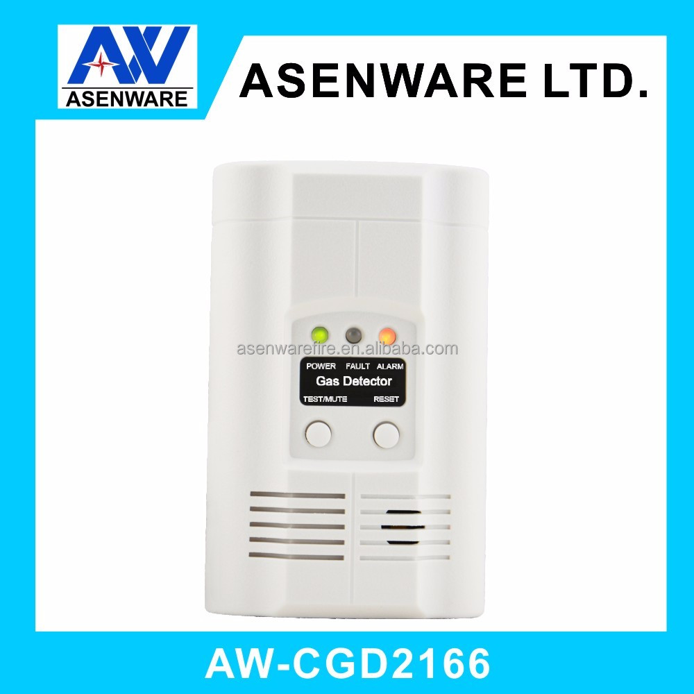self-contained carbon monoxide LNG Gas detector for security alarms systems