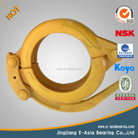 High Quality construction equipment spare parts _concrete pump pipe wedged clamps