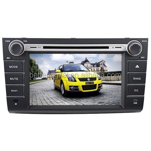 Suzuki swift car dvd gps navigation system with CE/ROHS cerftificates
