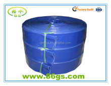 durable pvc layflat flexible hose for water irrigation