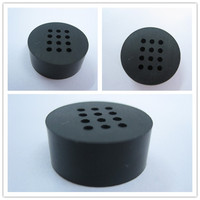 supply good quality square and round rubber end caps