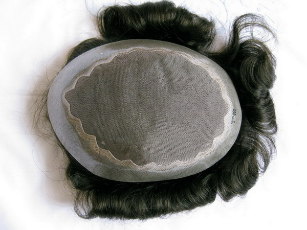 remy indian human hair toupees cheapest stock mono pu base in 3-5days you can receive