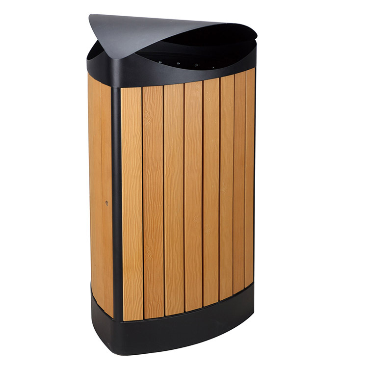 Types Outdoor Decorative Recycle Plastic Wooden Waste