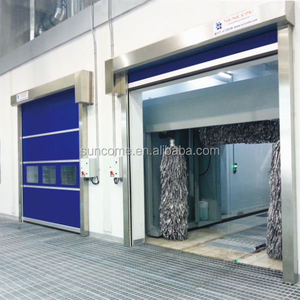 Full Transparent High Speed Shutters/transparent roller shutter