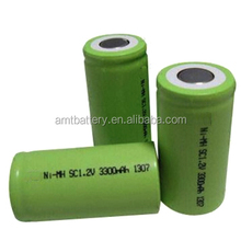 1.2V SC 3300mAh Ni-MH battery pack for power tools,with UL/CE certificate.