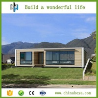 Luxury movable steel structure low cost prefabricated kit container house for sale