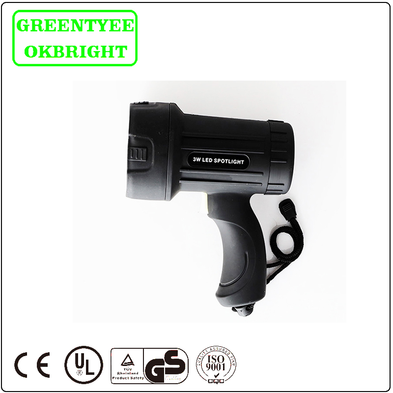 Free sample Durable most powerful Handheld spotlight led