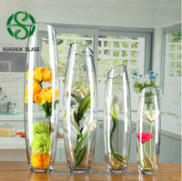 Beatiful Home Office Decorative Ceramic Garden Flower Vase glass