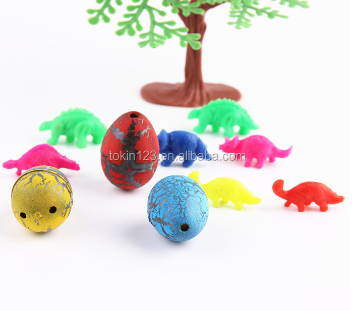 educational funny water growing pet dinosaur EGG TOY to kids