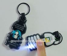 hot selling promotional gift LED keychain with cheaper price