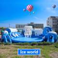 inflatable indoor ice world water park