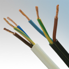 3 core BVVB Solid Flat power cable
