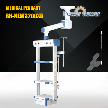 Meidcal Pendant from CE,FDA,ISO 13485 certificates approved factory:RH-NEW3200XD single arm electric medical pendant