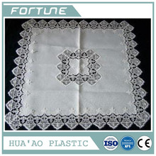 PVC PLASTIC LACE CLOTH FILM FOR PRINTING USED FOR DINING TABLE OVERLAYS