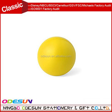Universal NBCU FAMA BSCI GSV Carrefour Factory Audit Manufacturer squeeze yellow anti ruber stress ball