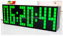 Big LED Digital Alarm Clock Backlight Countdown Bedroom Clocks Temperature Calendar Decoration Clock