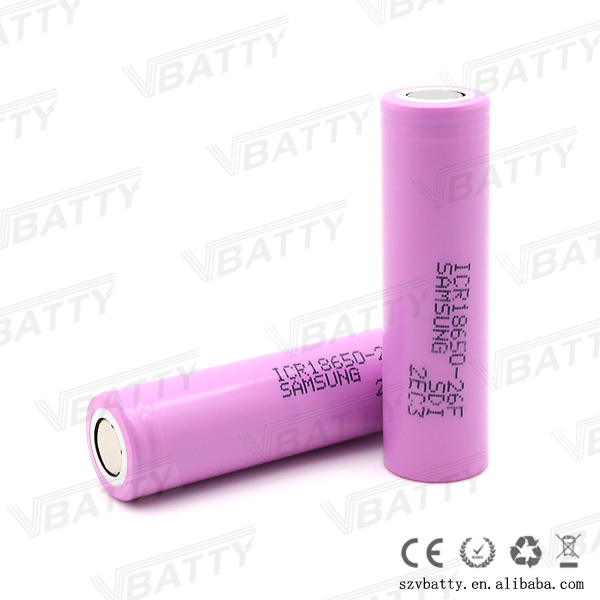samsung li ion battery 18650 2600mah 14.4v battery pack for cleaning robot