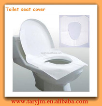 Custom printed disposable hygienic toilet seat covers with waterproof function