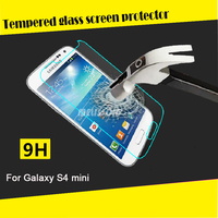 Wholesale price tempered glass screen protector for Samsung Galaxy S4 mini i9190/9192/9195 tempered glass