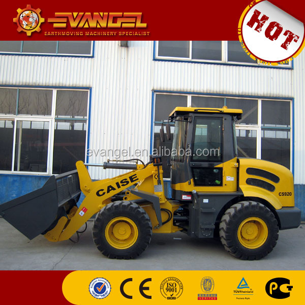 wheel loader attachments caise cs920 Used Small Wheel Loader For Sale