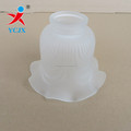 Opal white clear glass lampshades glass lighting lampshade