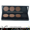 4 colors palette professional eyebrow powder