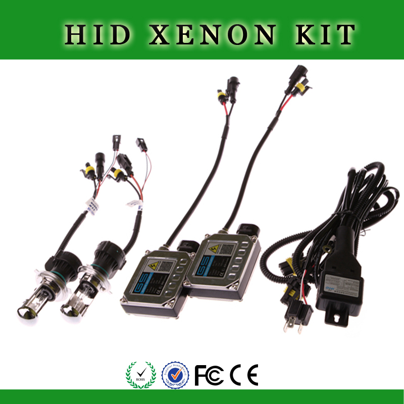 Xenon HID retrofit system with built-in ballast hid xenon lamp - OEM Logo / BOX h4 h7 h8 h13 880 hid xenon bulb d1 12v 35w