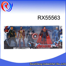 New product marvel the avenger toys plastic action figures