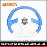14inch racing car leather sport steering wheel