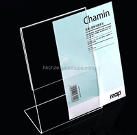 Free sample supermarket & store plastic clear pop price acrylic sign holder