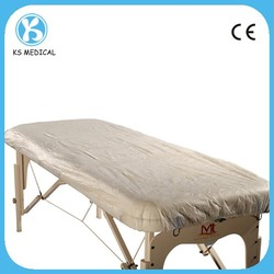 PE and PP Nonwoven Waterproof Disposable Plastic Mattress Cover