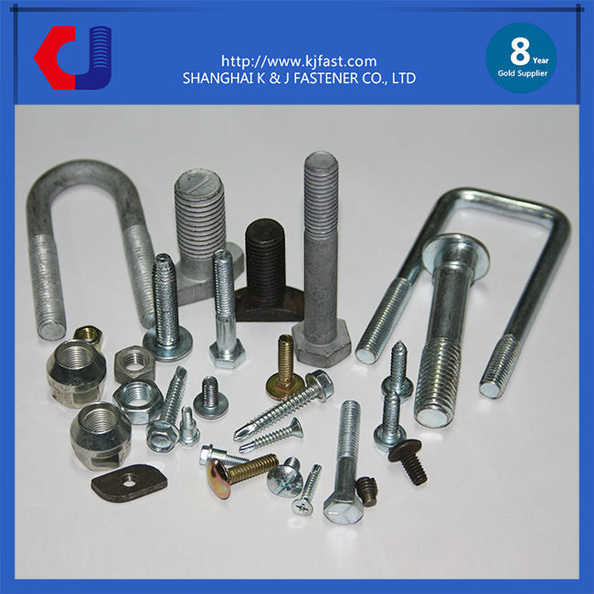 2017 New Supply Hex Head Stainless Steel Bolts and Nuts