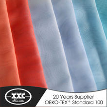 High quality fashion popular hot sale stock voile sheer curtain stock