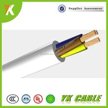 3 core royal cord 2.5mm2 4mm2 flexible pvc cable H03VV-F cable