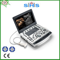 Mindray M9 NEW portable cardiology color doppler ultrasound machine with linear array probe, phased array probe CW probe