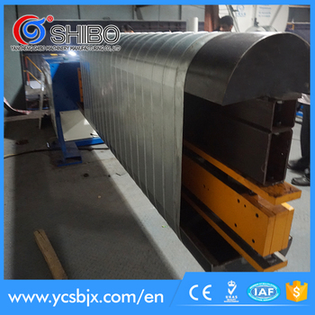 pipe making machine,flat oval duct forming machine