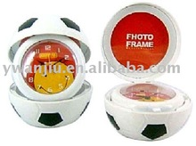 Supply promotion gifts, football photo frame alarm clock