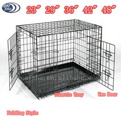 Wholesale large Portable Metal Heavy Duty Dog Crate from china supplier
