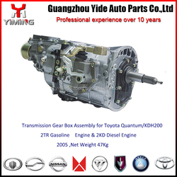 33030-26A00 Transmission gear box for Quantum KDH200 2TR 2KD Engine