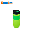 CL1C-E368 comlom 400ml PP Sports vacuum colored glass bottle flask